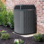 outdoor trane HVAC heat pump from agl services