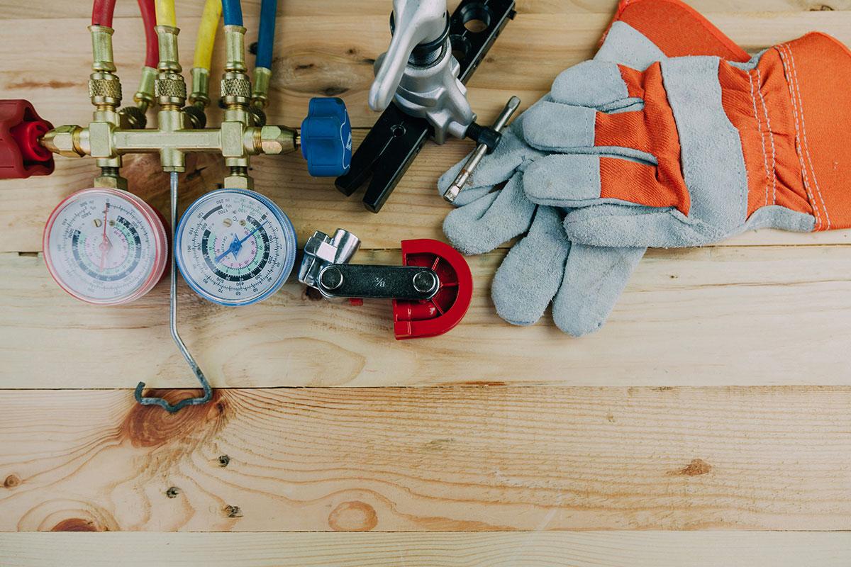 Tools for HVAC maintenance